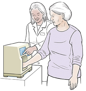 KOD Healthsheet Update Review KOD Healthsheet Update Review 100% 11  85779 1 of 1 Context: LU2 3-85779  Healthcare provider giving woman bone density test. Woman's hand is in small machine. Screen reader support enabled.           KOD Healthsheet Update Review - Google Sheets     Healthcare provider giving woman bone density test. Woman's hand is in small machine.
